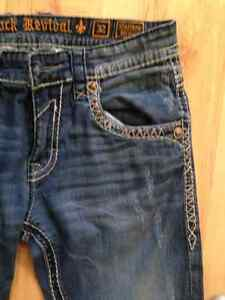 Rock revival jeans 32 Matthew *likeNew* Prince George British Columbia image 3