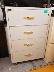 FIREPROOF Filing Cabinets 7 piece lot for sale USED/LOT Price