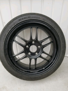Enkei RPF1 BLACK 5x114.3 17x7 *Looking for trades as well*