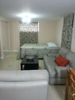 SHORT TERM stay-Bachelor basement-apartment- for a Single person