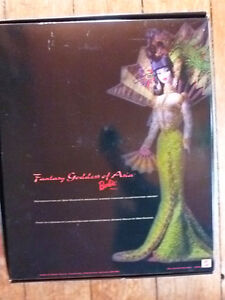 Bob Mackie BARBIE Fantasy Goddess of the Asia with Sketch #20648 Peterborough Peterborough Area image 3