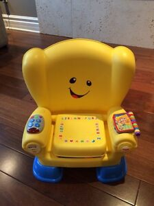 The laugh and learn smart stages chair in excellent condition