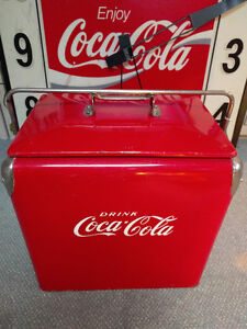 ANTIQUE COKE COOLER (REG. 1946)