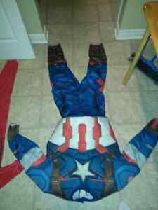 Mens captain america costume, kids iron man