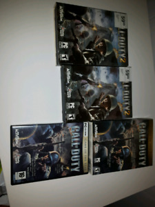 Jeu PC Call of Duty 1 et 2