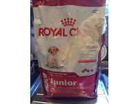 Royal Canin junior puppy dog food 4kg