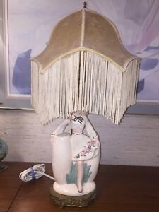 1950's vintage lady lamp West Island Greater Montréal image 1