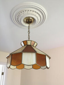 Vintage light fixtures and lamp