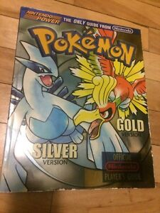 Pokemon gold silver guide BOOK livre nintendo power