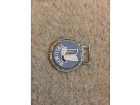 Standard Triumph key ring fob badge and key ring