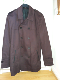 Men winter jacket brown L to 2XL