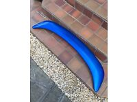 MG MGF MGTF genuine rover boot spoiler