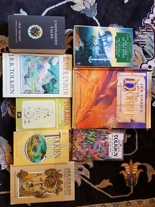 8 Tolkien and Lord of the Rings related books
