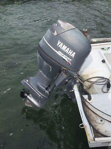Yamaha 50 HP 4 stroke with Hydro Yatch boat Cornwall Ontario image 2
