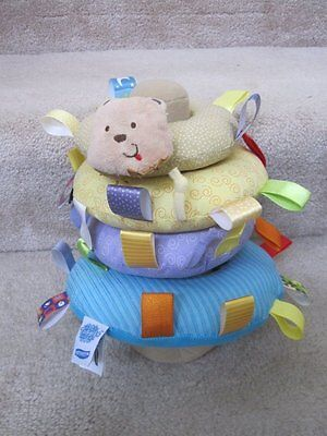 Taggies Early Years Animal Soft Ring Musical Baby -