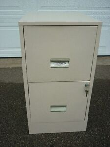 Filing Cabinet - Two Door - Locking With Key