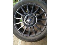 Genuine Mk4 zetec s alloys full set of 4