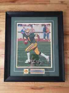 Warren Moon Autographed photograph Strathcona County Edmonton Area image 1