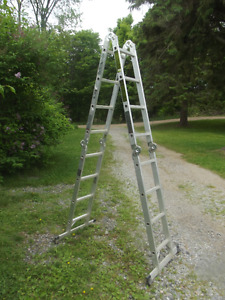 Heavy Duty Foldable 16' Aluminum Ladder