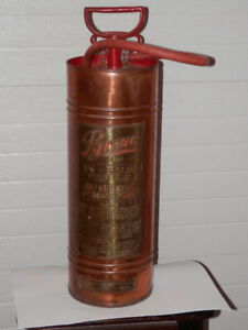 Vintage Pyrene Pump Type Fire Extinguisher