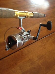 Vintage Fishing Rod & Spinning Reel Combo