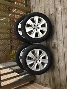 VW 5x100 Winter Tires