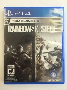 Rainbow Six Siege PlayStation 4
