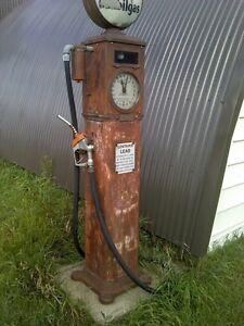 Recheche vielle pompe a essence a restauré