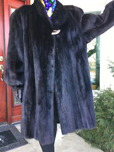 MANTEAU DE VISON MINK COAT XXLARGE