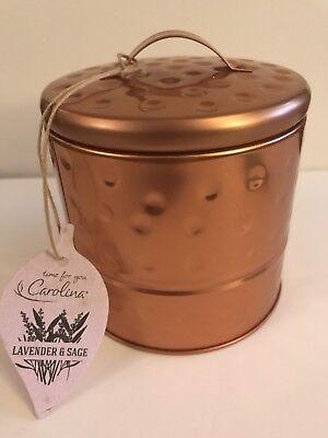 Lavender Garden Candle - Carolina 15oz Garden Tin Candle - Lavender & Sage