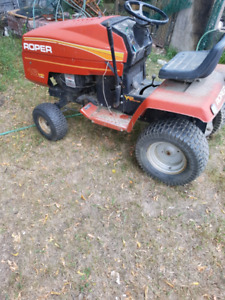 Make a offer need gone. 16 hp lawn tractor for sale