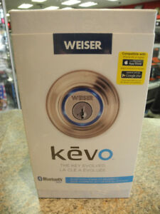 Kevo Bluetooth Enabled Deadbolt BNIB