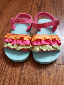 Size 3-4 baby girl sandals