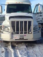 2009 International Prostar - Moosebumper, Headache Rack. Tool Bo