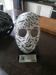 Mask g.cheevers autographes