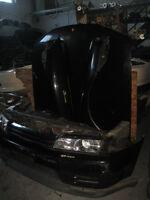 NISSAN SKYLINE GT-R R32 RB26 FRONT CONVERSION JDM GTR NOSE CUT