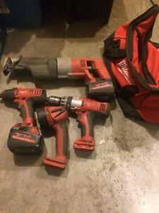 Milwaukee v18 kit no charger