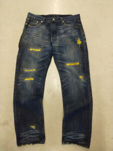 Super Rare Levis X Clot jeans Made in Japan size 36 $300 obo