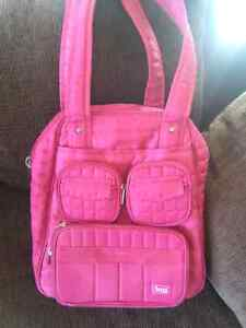 LUG carry-on/gym bag (pink)