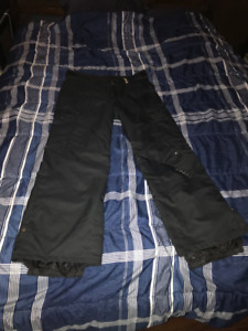 O'Neill Snowboard Pants-Fifty2 Series-Men's Large Black