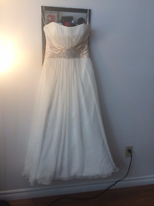 small wedding / or prom dress