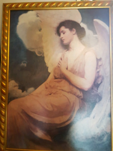 Oil on Canvas Angel picture
