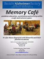 Holiday Moncton Memory Cafe