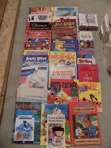 Livres cegep et livres bébé èa ado