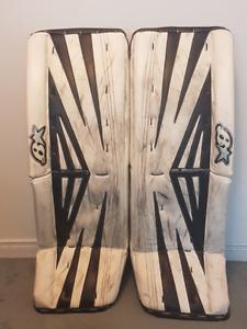 Brian's Subzero 2 Pro Custom Goalie Pads. size 34+1