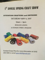 1st Annual Spring/Mothers Day Crafters Event
