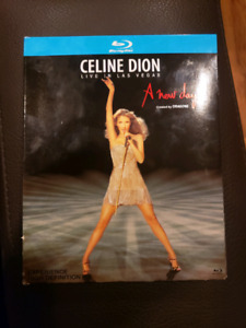 """Celine Dion """" A New Day """" blue-ray"""