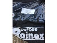 Oxford rainex bike cover large