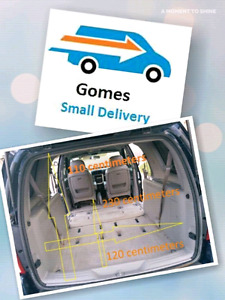 Pick up, drop off and delivery services
