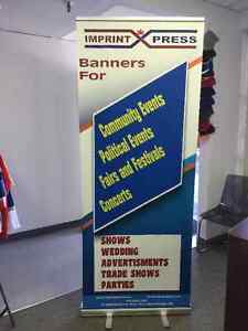 Roll Up Banner and Reretractable Banner Oakville / Halton Region Toronto (GTA) image 1